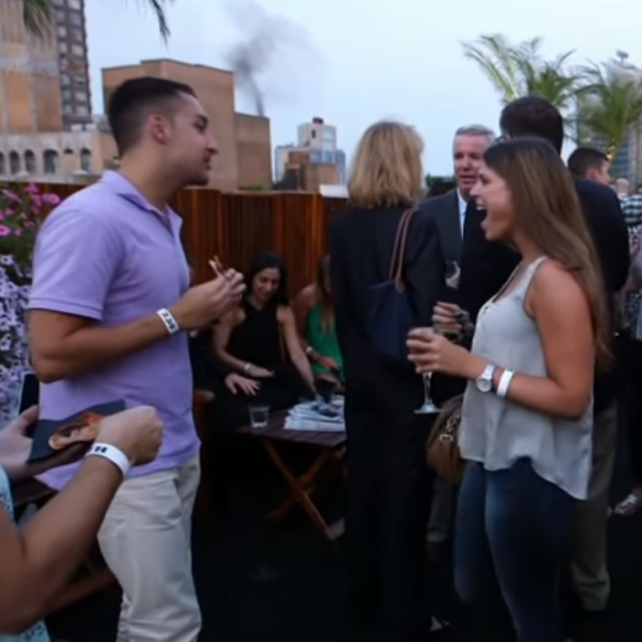 US Open Party at 230 FIFTH ROOFTOP BAR