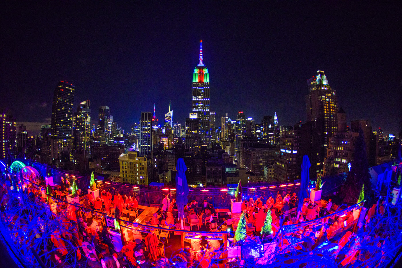 Venue Rooftop Bar Nyc New York S Largest Indoor And