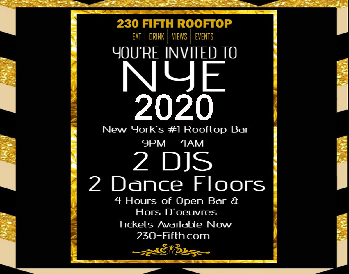 Nyc Chinese New Year 2020 New Year's Eve 2020   Rooftop Bar NYC   New York's largest indoor